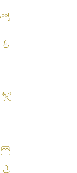 The Accommodation Includes